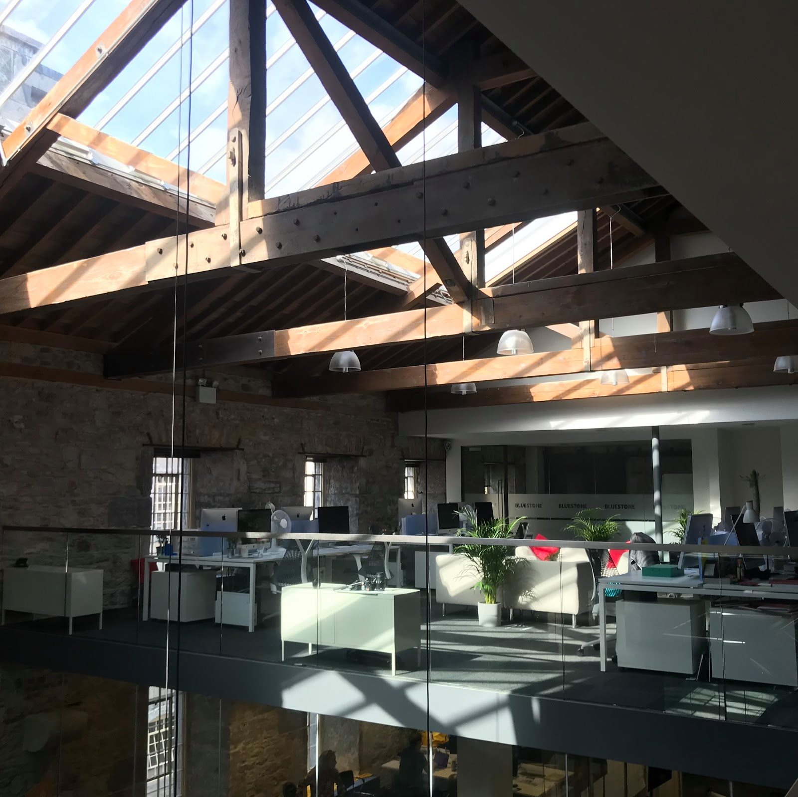 bluestone360 offices with lots of light
