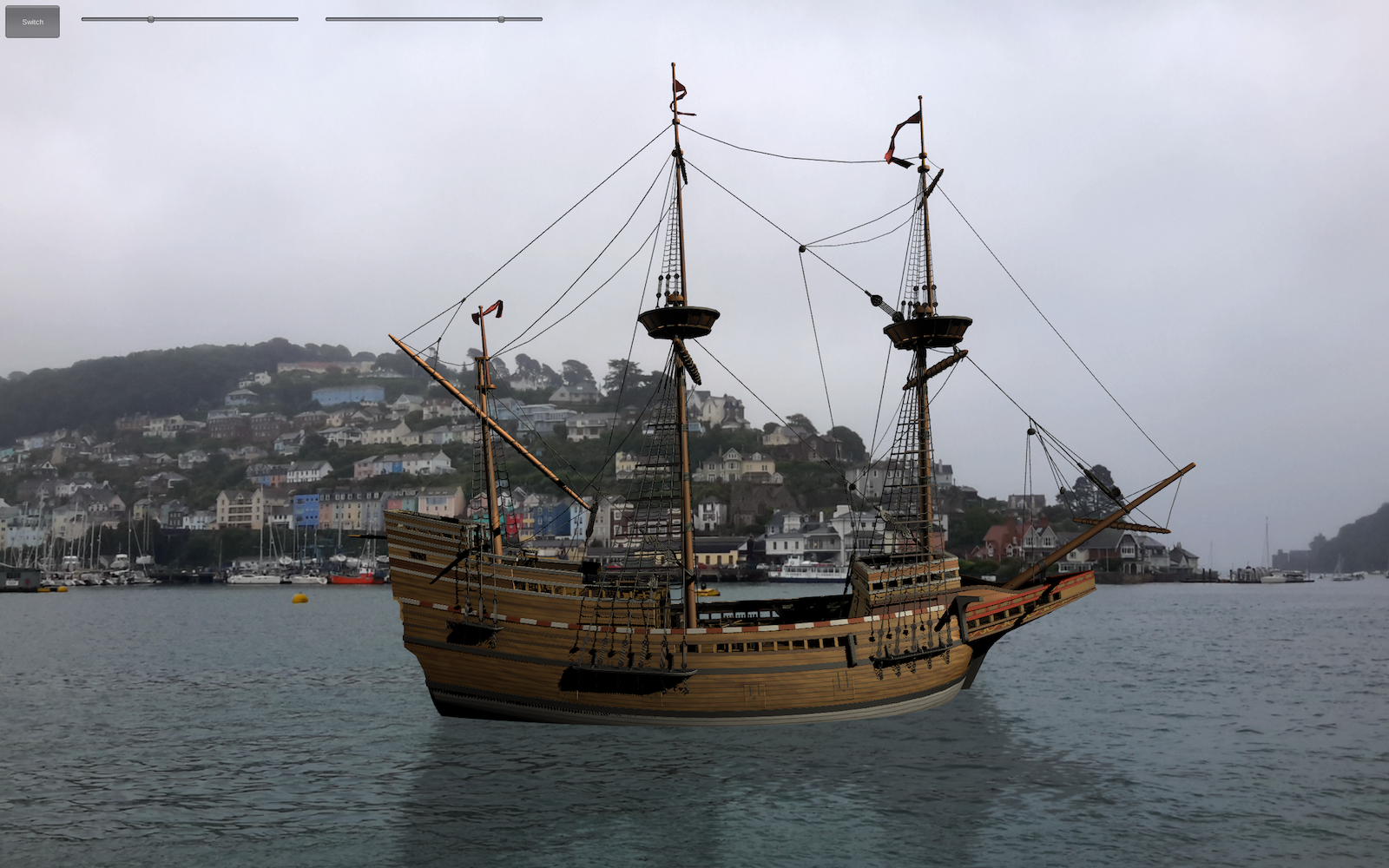 augmented reality mayflower ship dartmouth